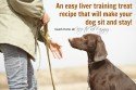 Easy Liver Training Treat Recipe