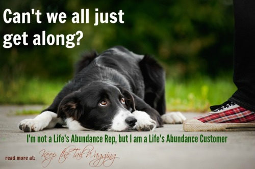 I'm not a Life's Abundance Rep, but I am a Life's Abundance Customer