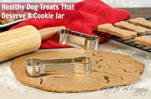Healthy Dog Treats that Deserve a Cookie Jar